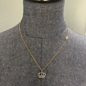 Juicy Couture 👑 Crown Gold & Silver necklace